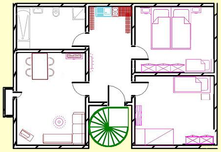 Machen, Auch Wenn Sie Mit Größerer Familie Verreisen Möchten. Die Wohnung  Wurde Im Wohnzimmer, Küchen  Und Eingangsbereich Umfangreich Renoviert Und  Hat ...